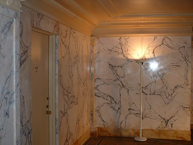 Marezzo Scagliola, Washington DC restoration project