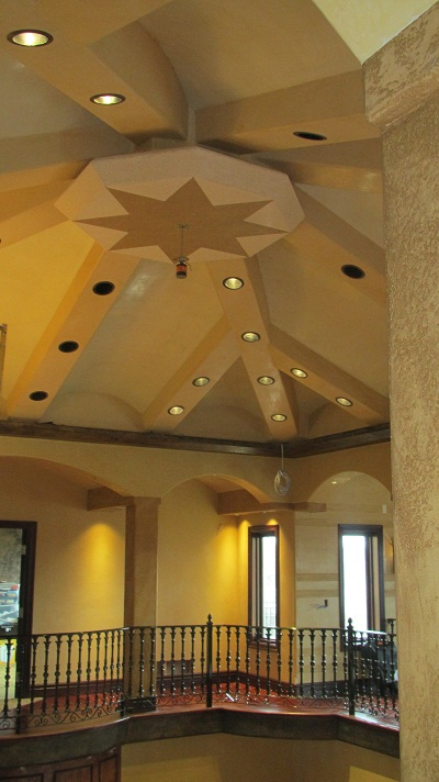 "Custom ""Venetian Plaster"" Marmorino and Spatolato Finishes"