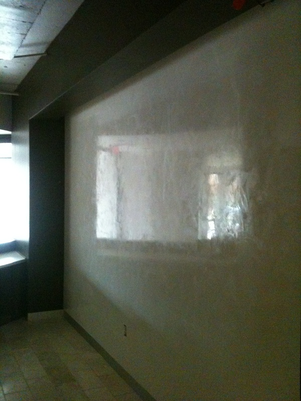 "Custom ""Venetian Plaster"" Marmorino finishes"