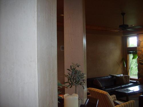 Venetian stucco Columns and walls, Stilwel KS